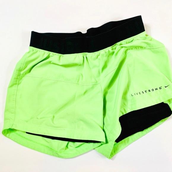 Nike Pants - Nike Dri fit Live Stong athletic shorts